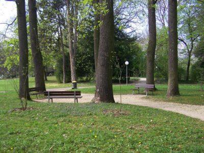 Meditieren im Park